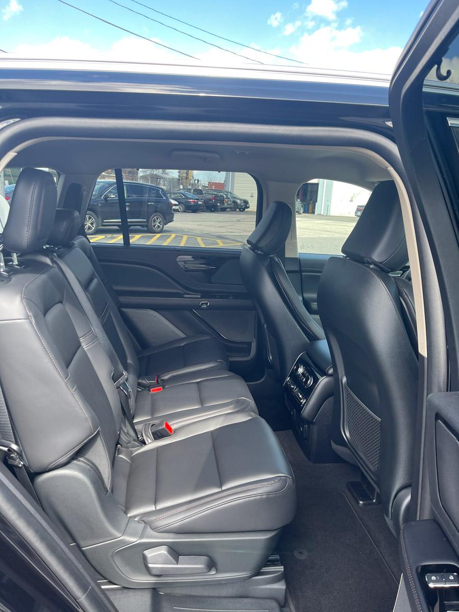 Image of interior of SUV