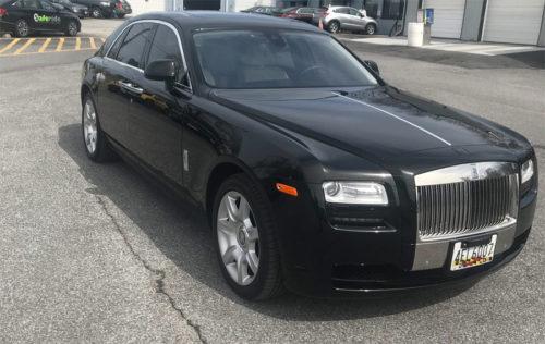 Image of exterior of Rolls Royce
