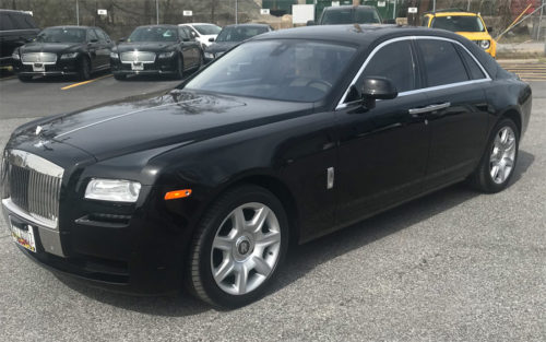 Image of Ghost Exterior on American Limousines website