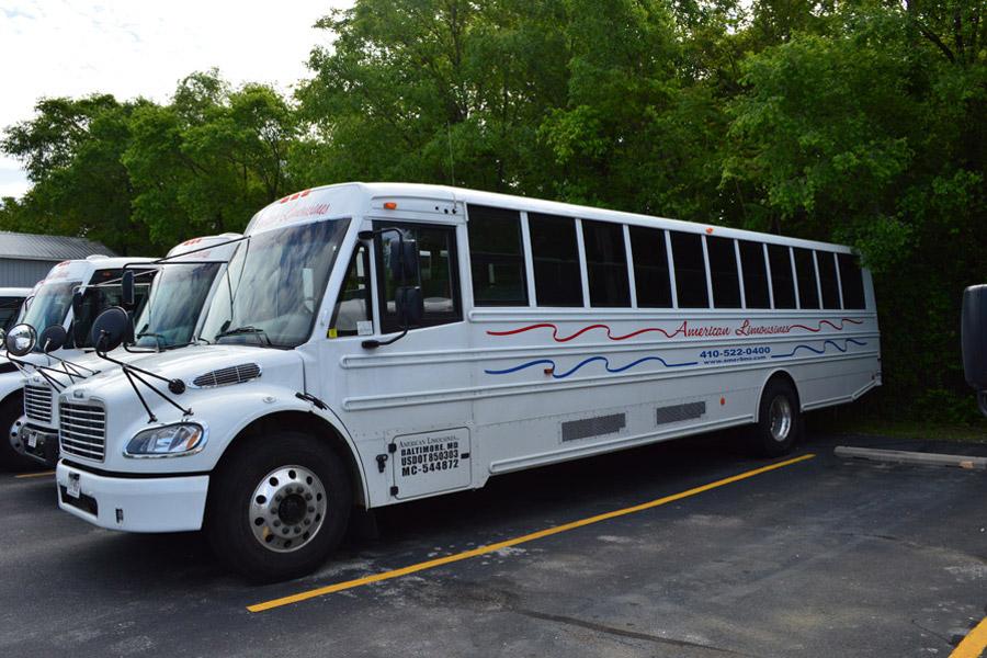 Image of shuttle bus